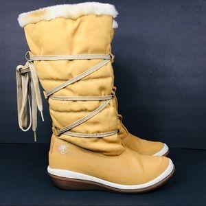 Timberland Knee High Winter Boots 9 M